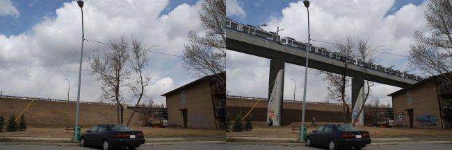 Tác động của việc xây dựng đường tàu điện trên cao đối với khu sunalta?