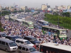 Giao thông ở Sài Gòn | Nguồn: vietnamnet.vn