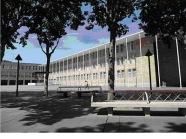 Hinh 4: Công trình tòa thị chính Logrono của kiến trúc sư Rafael Moneo mà Peter Eisenman viện dẫn.