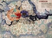 Quy hoạch nội đô London theo mô hình hữu cơ do Abercrombie chủ trì dựa theo những ý tưởng của Geddes. Nguồn: www.probertencyclopaedia.com