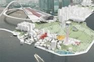 Quy hoạch Khu Văn hóa Tây Kowloon (Hongkong) của Rem Koolhaas nhấn mạnh đến cá tính đô thị và bản sắc văn hóa địa phương.
