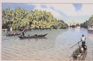 Sông nước Sài Gòn là ấn tượng lớn nhất của những người thiết kế, phản ánh trong phối cảnh này của đồ án Phú Mỹ Hưng. Nguồn: AIA