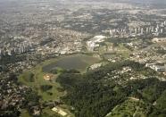Công viên Barigüi, Curitiba. Nguồn: IPPUC.