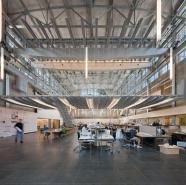 Tòa nhà cũ Hinman được sửa lại thành một studio cho sinh viên cao học các ngành kiến trúc, thiết kế đô thị và quy hoạch tại Viện Công nghệ Georgia (Georgia Tech). GT là một trong số các trường tại Mỹ có chương trình cao học chuyên về thiết kế đô thị.