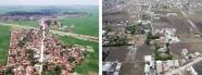 Hình 4. Đô thị hóa diễn ra tại ngoại vi Hà nội (trái) và thành phố Hồ Chí Minh (phải). Nguồn: Matsumura 2012;