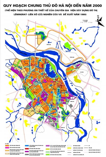 Quy hoạch Hà Nội thời kỳ 1975 - 1986
