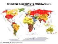 Thế giới theo quan điểm của nước Mỹ.