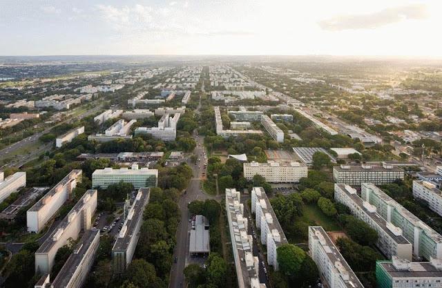 Hành lang đô thị phía nam thành phố - Ảnh chim bay
