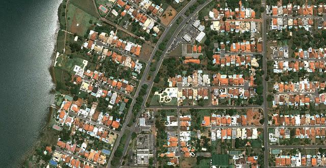 Khu dân cư Lago Sul giàu có  gần trung tâm thành phố