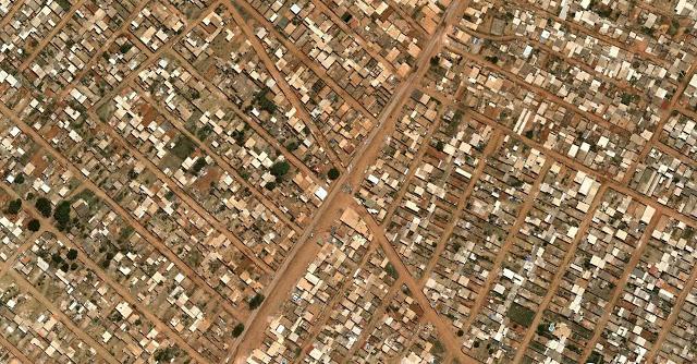 Khu Sol Nascente nghèo khó nằm ở ngoại vi thủ đô