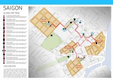 Đề xuất tuyến đi bộ trong trung tâm Tp.HCM của SLAB - Dự án đã được UBND Tp.HCM phê duyệt năm 2011 nhưng bị đình trệ tới nay