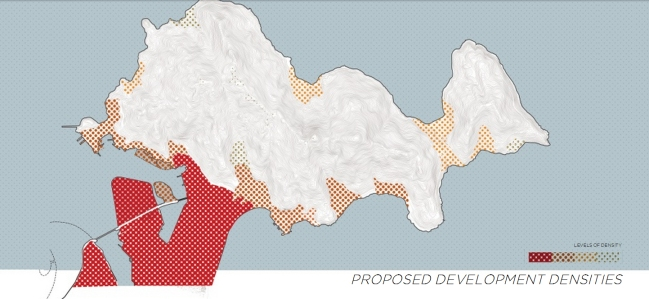 Mật độ phát triển. Nguồn: Viện Quy hoạch Đà Nẵng