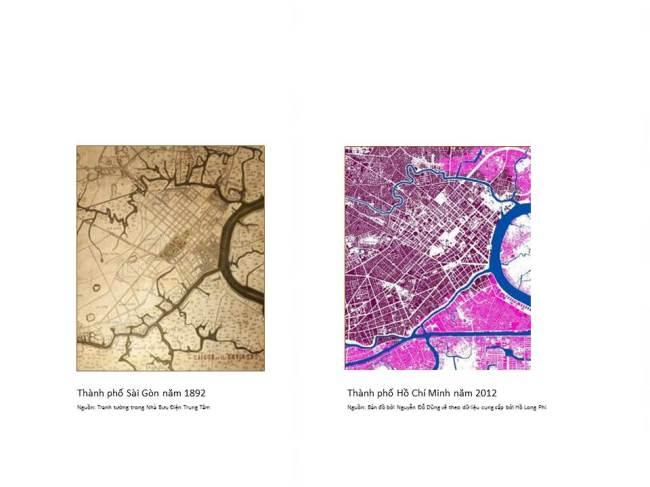 Sự thay đổi của khu vực trung tâm tp HCM sau 120 năm