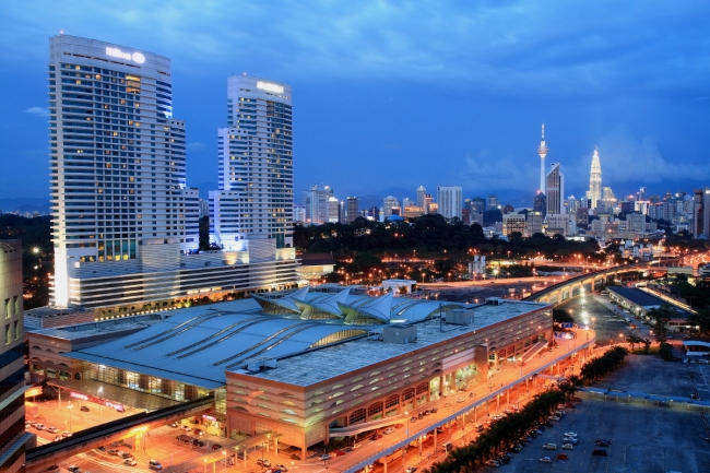 KL_Sentral_at_Night